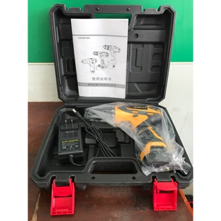 紅松16.8V 塑盒 充電電鑽 ㄧ個電池 一個旅充 電動工具