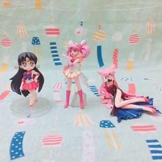 (現貨) 日本帶回 美少女戰士/水手月亮Sailormoon 火星/小淑女/小小兔/黑色淑女 絕版扭蛋/公仔