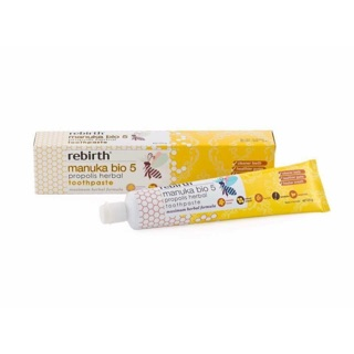 澳洲正品代購 Rebirth 麥蘆卡 草本 蜂膠牙膏