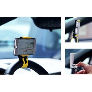【REMAX】車用支架/方向盤導航支架/手機支架/車用支架/汽車手機架/手機固定架/RM-C11