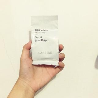 (補充包)(現貨)蘭芝Laneige雪燦BB舒芙蕾水凝霜No.23