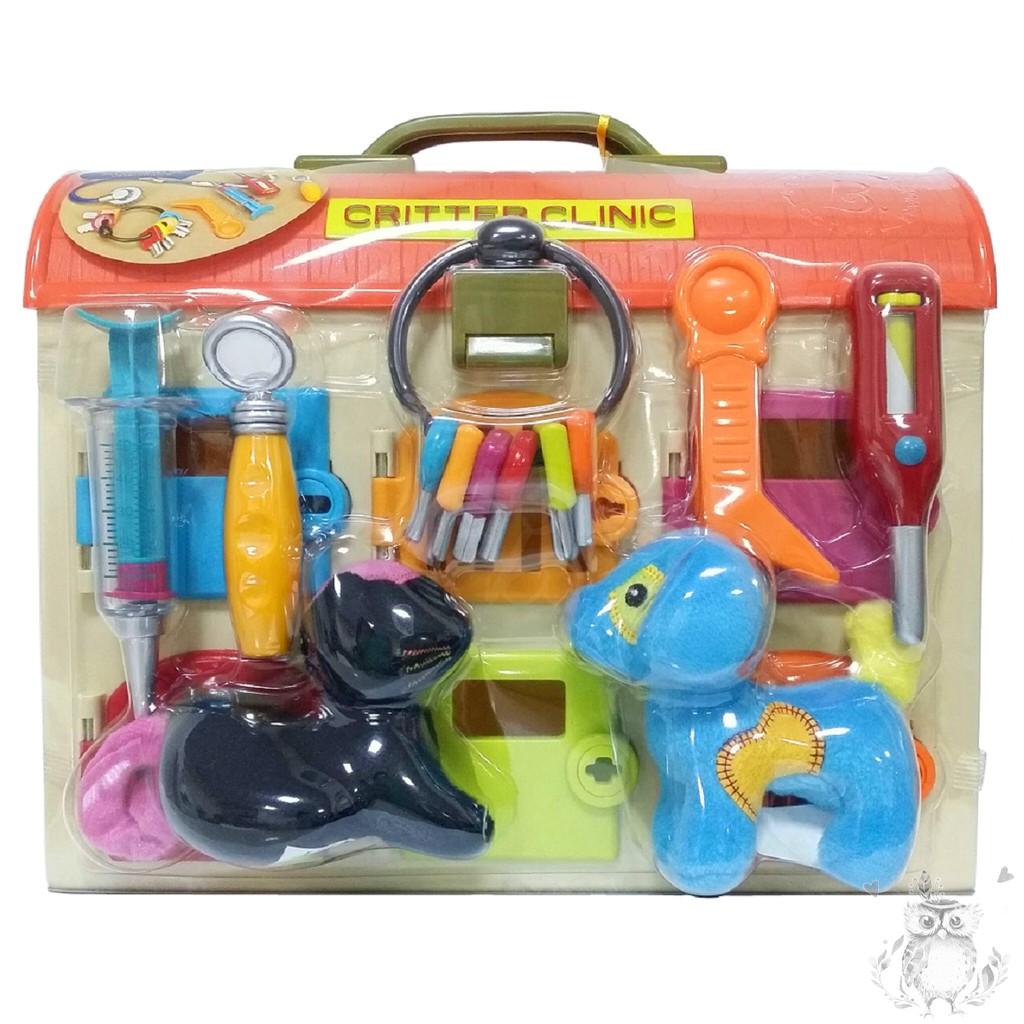 B Toys 美國感統玩具-可麗特寵物診所