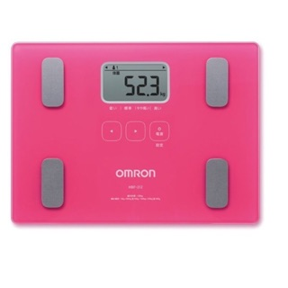 現貨供應 歐姆龍  體重體脂肪計HBF-212 體脂計 212 桃色