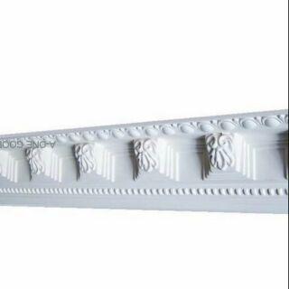 居家藝術 歐洲宮廷式藝術- 維多利亞 巴洛克 -浮雕 PU 線板,PL-0904 每一支$580