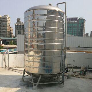 二手商品 五噸白鐵水塔