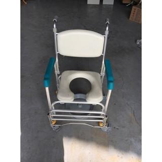 二手家具全省收購(大台北冠均-五股店)二手貨中心--可移動式鋁合金便盆椅 洗臀椅 便器椅X-011004